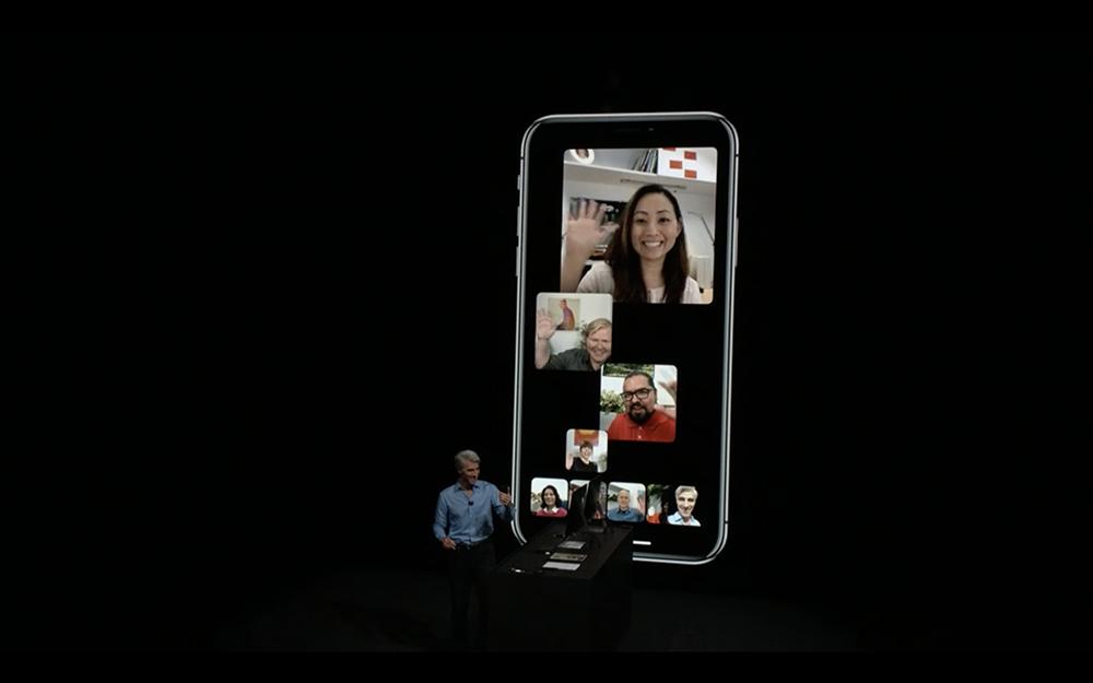 Apple WWDC 2018: Ra mắt FaceTime nhóm tối đa 32 người