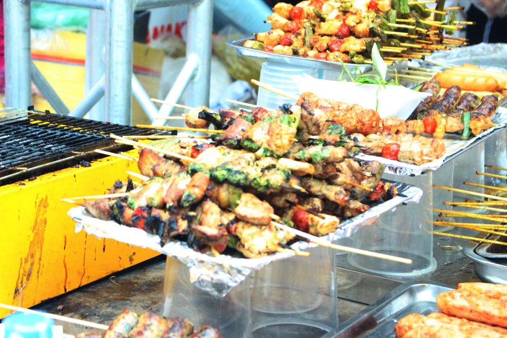 Hội chợ ẩm thực Hàn Quốc: Nơi xả stress cuối tuần