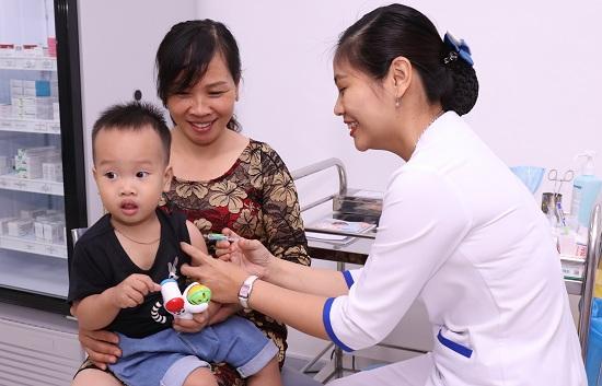 Vắc xin Hexaxim 6 trong 1 lần đầu tiên được tiêm chủng ở Việt Nam