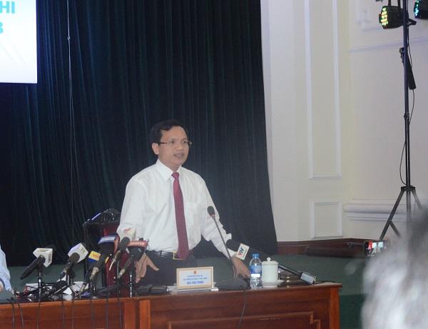 Ông Mai Văn Trinh - Cục trưởng Cục quản lý chất lượng - Bộ GD-ĐT. Ảnh Ngô Chuyên.