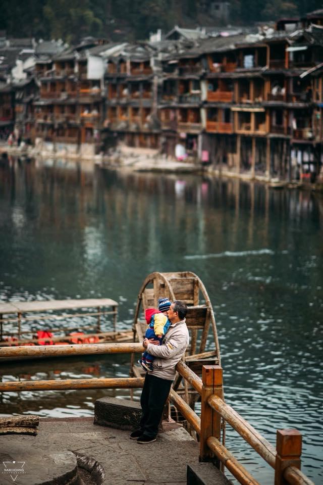 Đà Giang gắn liền với cuộc sống sinh hoạt của người dân trấn Phượng Hoàng