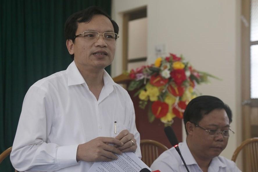 Ông Mai Văn Trinh - Cục trưởng Cục Quản lý chất lượng - Bộ GD-ĐT. Ảnh Lao động.