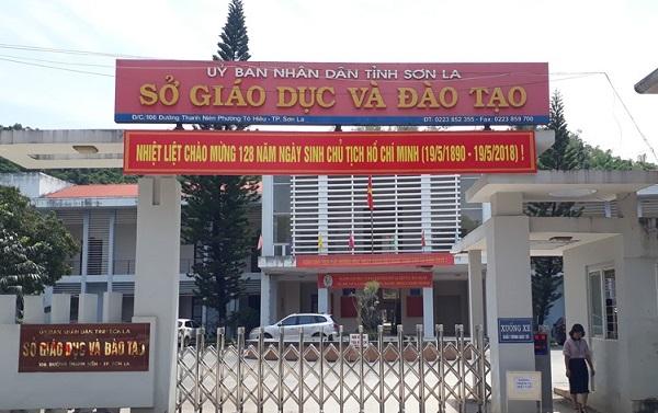 Sở GD-ĐT Sơn La.