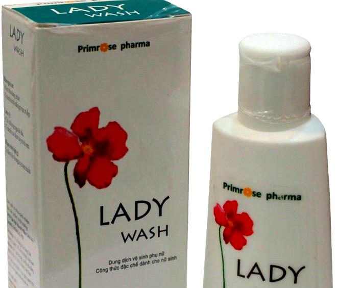 Thu hồi khẩn dung dịch vệ sinh phụ nữ Lady Wash