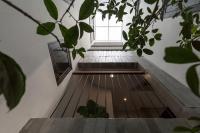 Thiết kế táo bạo của ngôi nhà 3 tầng với quy tắc không tầng, không vách