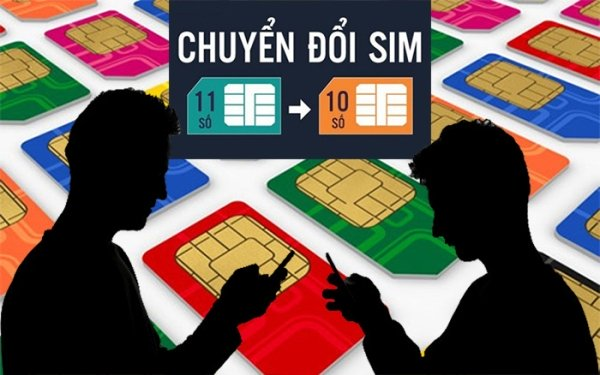Dùng Internet Banking, SMS Banking để chuyển đổi thuê bao 11 số