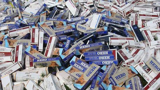 TPHCM: Phát hiện, bắt giữ hơn 11 nghìn bao thuốc lá nhập lậu
