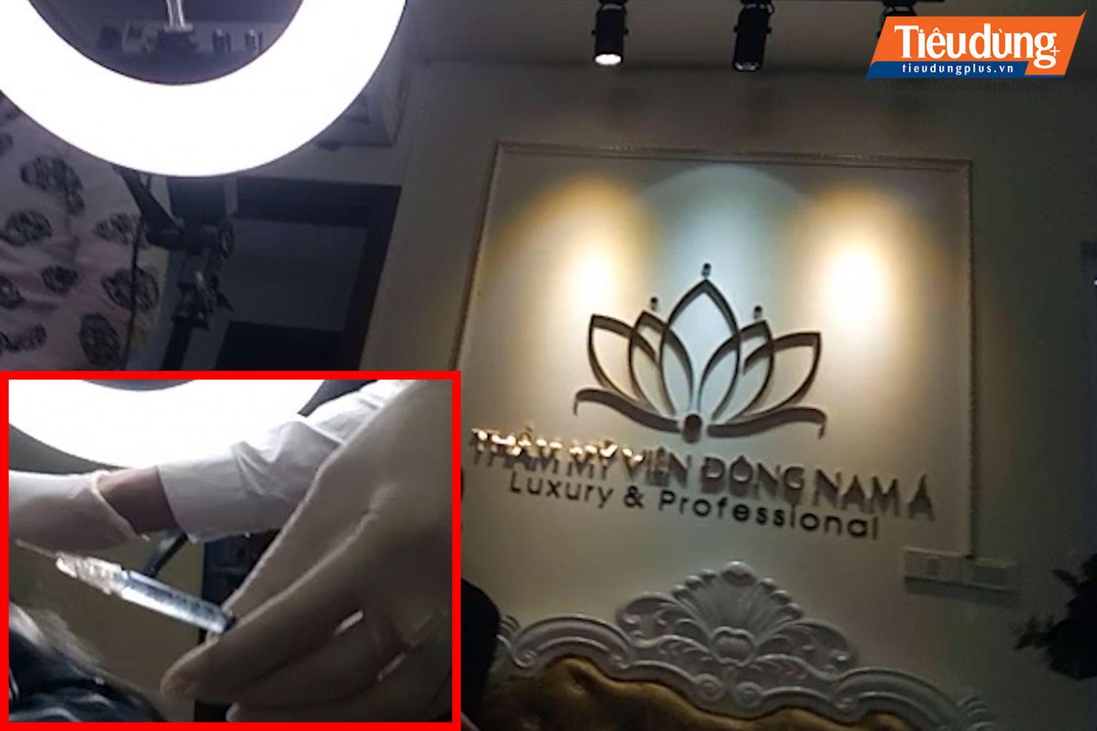 """Thẩm mỹ viện """"chui"""" ngang nhiên hoành hành giữa Hà Nội"""