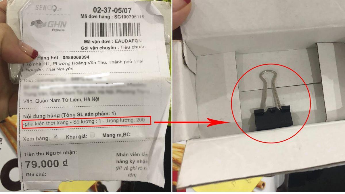 Cảnh báo: Không mua hàng trên sàn thương mại điện tử Sen Đỏ vẫn bị giao tận nhà