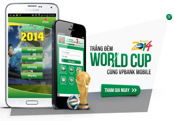 World Cup rộn rã - Game hay quà đã cùng VPBank Online