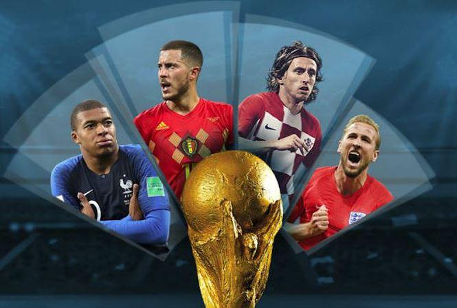 Những bàn thắng ấn tượng Vòng Bán kết World Cup 2018