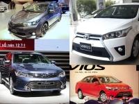 Toyota VN thông báo triệu hồi xe Corolla, Vios và Yaris