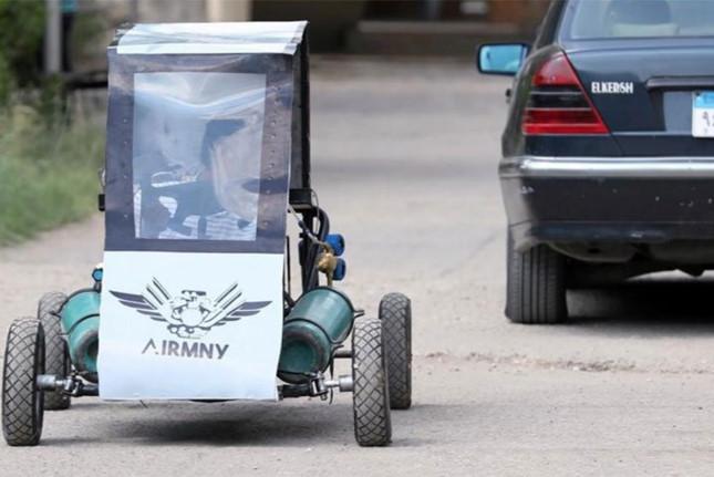 Xe hơi chạy bằng… không khí