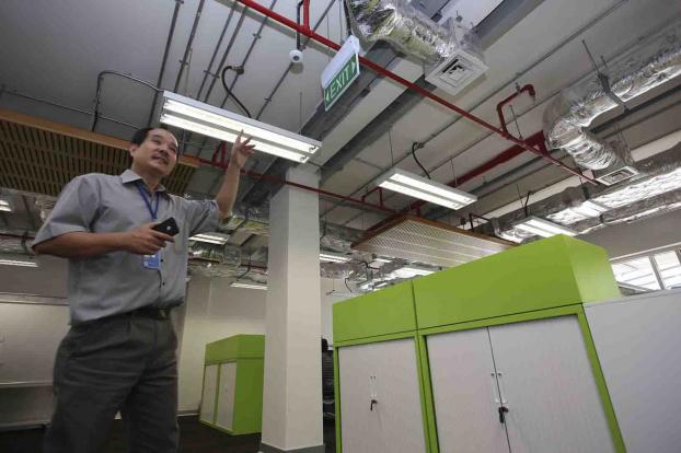 Bên trong ngôi nhà Xanh LHQ tại Việt Nam được giải thưởng công trình xanh thế giới 5