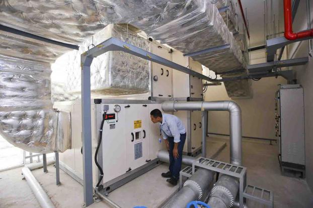 Bên trong ngôi nhà Xanh LHQ tại Việt Nam được giải thưởng công trình xanh thế giới 7