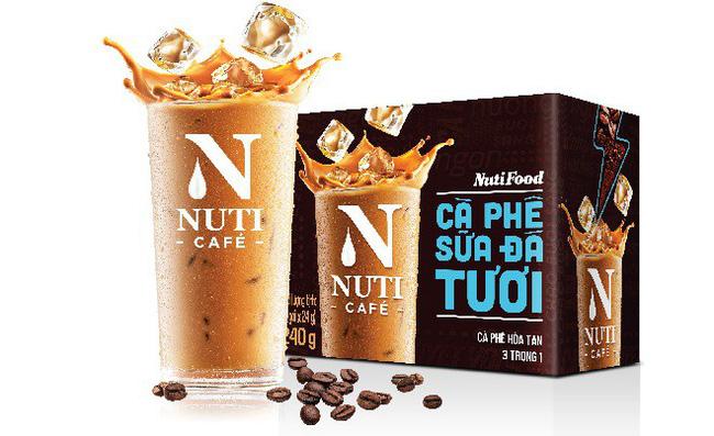 Sản phẩm Cà phê Sữa đá tươi của Nuti Cafe, ra mắt cuối tháng 8 vừa qua