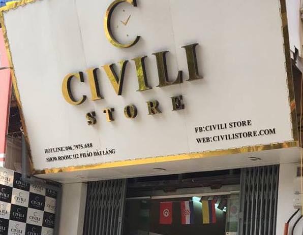Civili store vẫn ngang nhiên tiếp tay buôn hàng giả, coi thường pháp luật