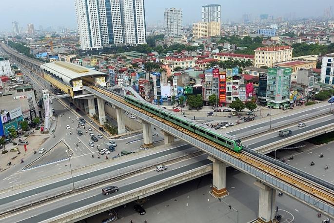 Ngày 20/9, vận hành thử toàn tuyến đường sắt Cát Linh - Hà Đông