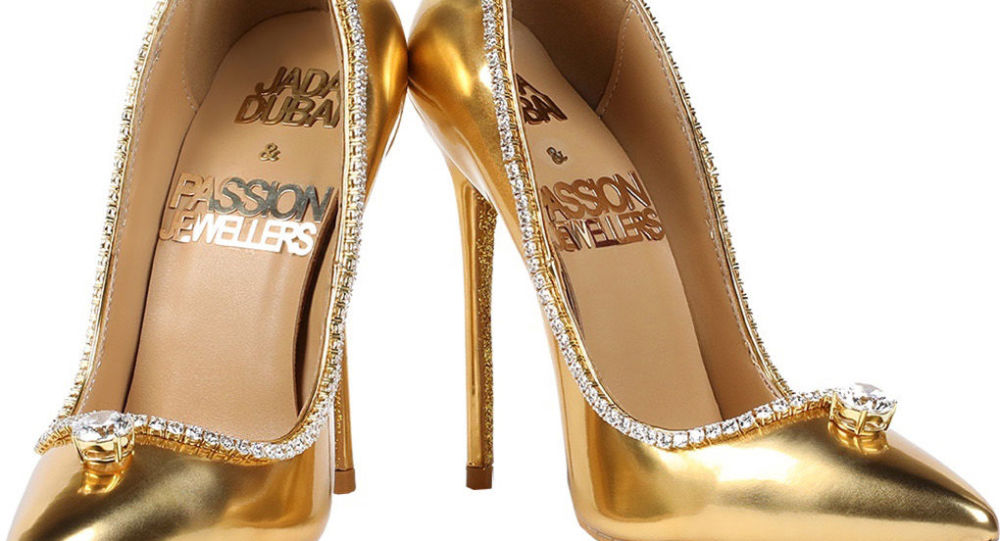 Đôi giày 17 triệu USD được làm từ vàng và kim cương