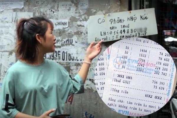 Dân thuê trọ ở Hà Nội