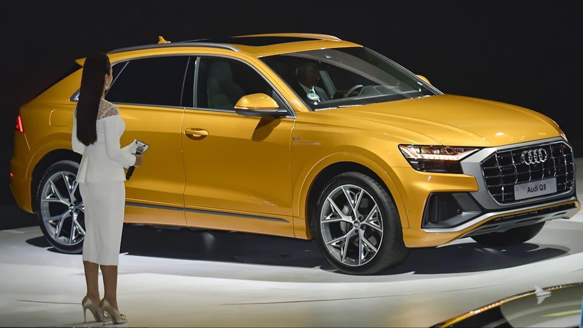 Cận cảnh Audi Q8 2019 nổi bật tại
