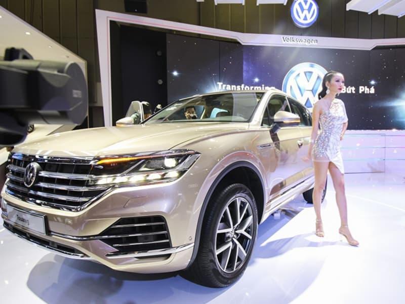 Volkswagen Touareg 2019 gây ấn tượng tại triển lãm ô tô lớn nhất Việt Nam