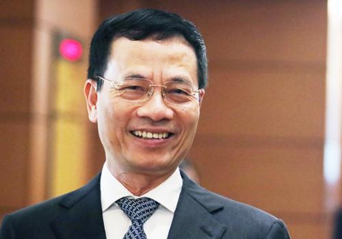 Quốc hội phê chuẩn chức vụ Bộ trưởng Bộ TT&TT với ông Nguyễn Mạnh Hùng