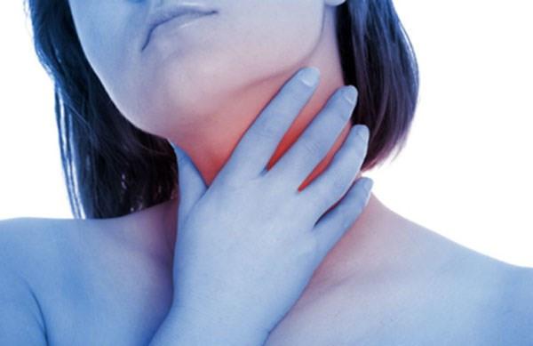 Đau cổ, họng, khó nuốt... là những dấu hiệu cảnh báo sớm ung thư tuyến giáp. Ảnh minh họa