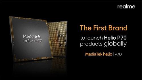 Helio P70 sẽ sớm được tích hợp trên smartphone Realme