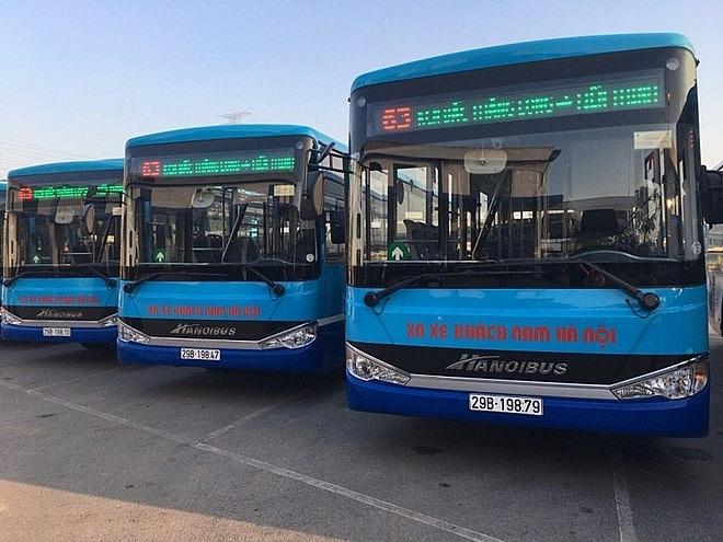 Hà Nội thay mới hàng loạt xe buýt chất lượng cao