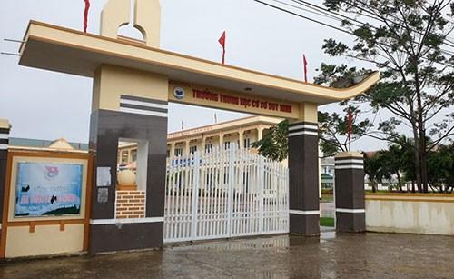 Quảng Bình: Đình chỉ công tác cô giáo bắt học trò tát bạn 230 cái khiến em phải nhập viện