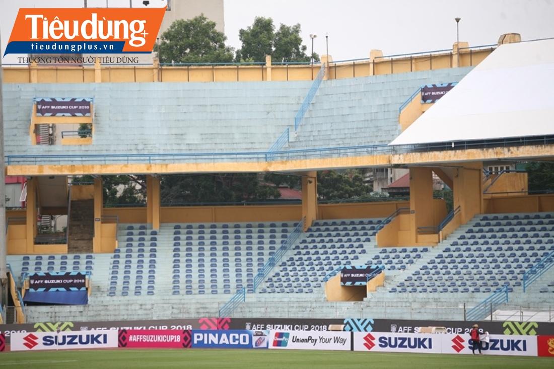 Cận cảnh sân vận động Hàng Đẫy sắp biến mất sau trận bóng AFF Cup cuối cùng