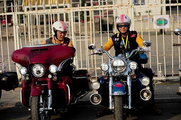 Cặp xe Harley Davidson có giá hơn 1 tỷ đồng.