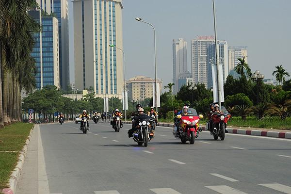 Môn thi đấu xe đạp đường trường năm nay được tổ chức tại Hà Nội.