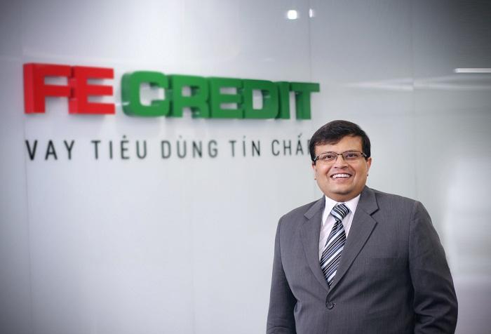 ông Kalidas Ghose, phó chủ tịch kiêm tổng giám đốc công ty FE Credit