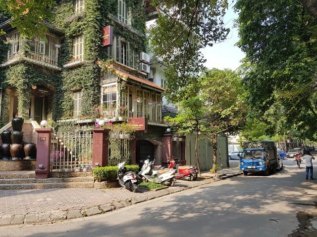 Trụ sở Cty CP Đầu tư và Phát triển Việt Xưa. Ảnh: Nhật Tân