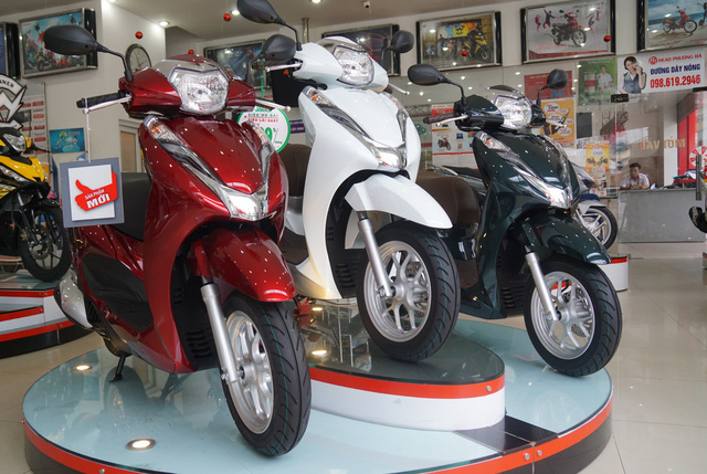 Xe Lead là dòng xe bán rất chạy ở Việt Nam.
