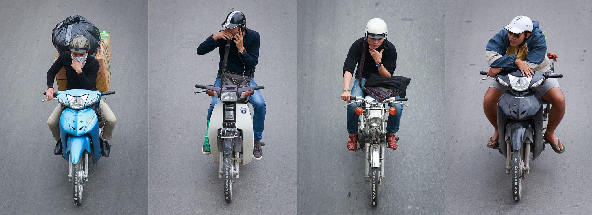"""Góc nhìn thú vị về giao thông Hà Nội qua loạt ảnh """"Những bộ tứ siêu đẳng"""""""