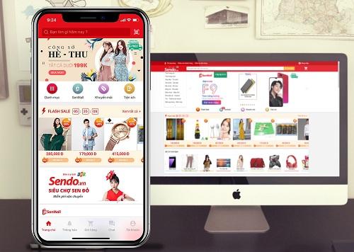 Trang thương mại điện tử Việt Nam Sendo nhận khoản đầu tư 51 triệu USD từ các công ty nước ngoài.