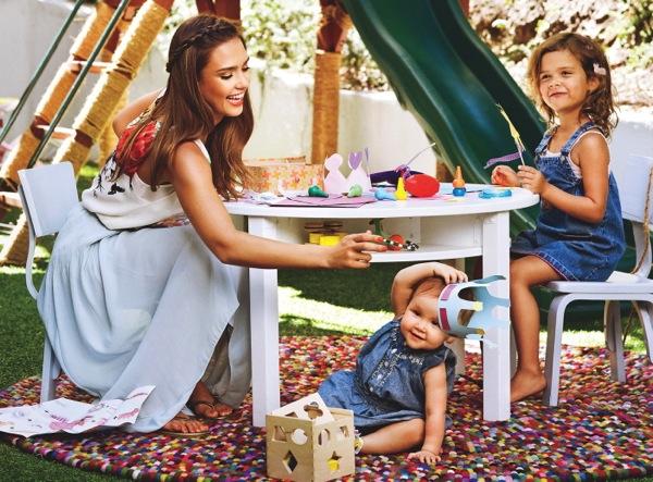 Jessica Alba chia sẻ 4 điều để dạy con thành đứa trẻ ngoan