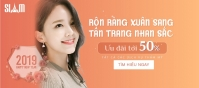 Viện Thẩm mỹ SIAM Thailand ưu đãi tới 50% tất cả các dịch vụ làm đẹp
