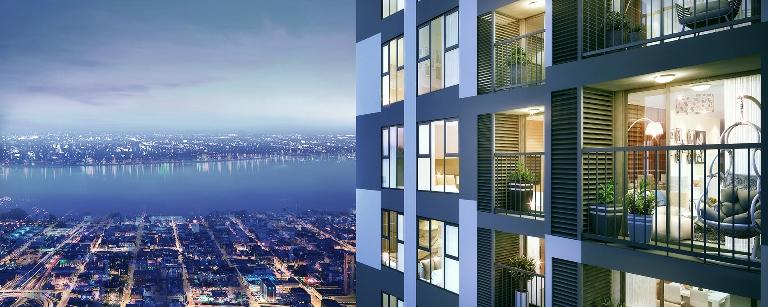 """Giải mã lý do căn hộ """"City view"""" tại Imperia Sky Garden hút khách"""