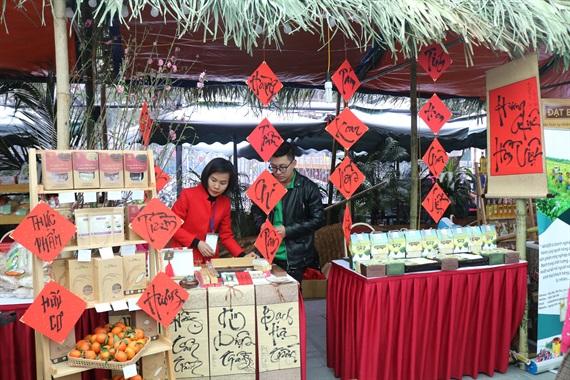 Hơn 400 đặc sản tham gia Hội chợ Nông nghiệp Sạch
