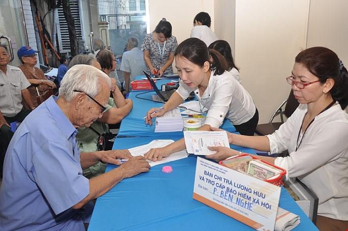 Đề xuất tăng lương hưu, trợ cấp từ ngày 1-7-2019
