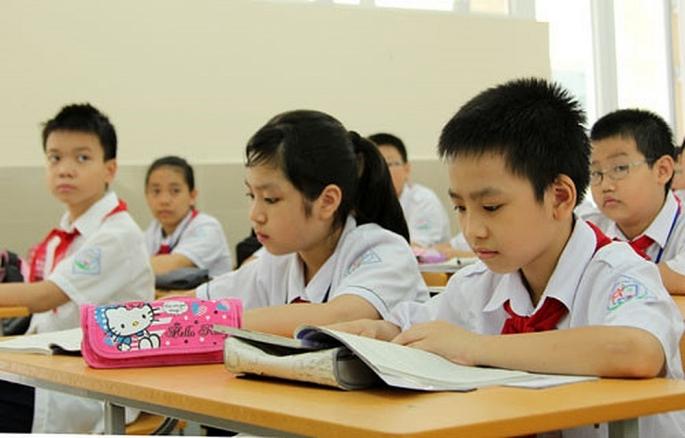 Học sinh phải thi Toán và tiếng Anh nếu muốn tuyển sinh lớp 6 hệ song bằng
