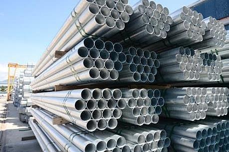 Hòa Phát xuất khẩu đơn hàng gần 1000 tấn ống thép tôn mạ kẽm sang Ấn Độ
