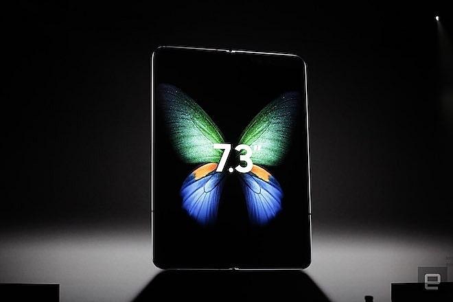 Samsung trình làng smartphone màn hình gập với giá gần 50 triệu đồng