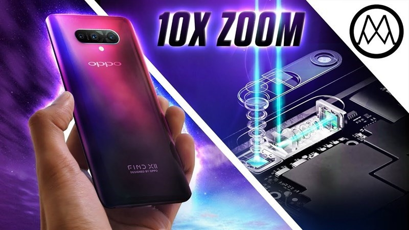 OPPO tung clip demo công nghệ zoom