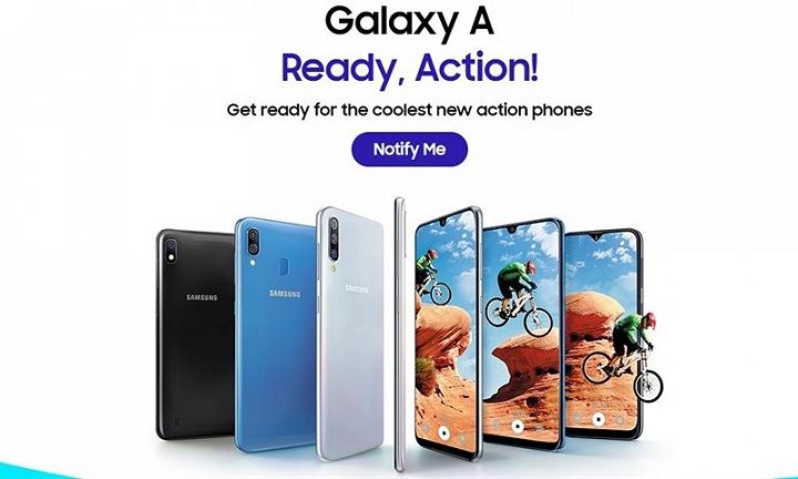 Samsung sắp ra mắt Galaxy A10,Galaxy A30vàGalaxy A50