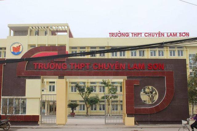"""Hiệu trưởng trường chuyên Lam Sơn dính hàng loạt """"bê bối"""" trong quản lý, tài chính"""